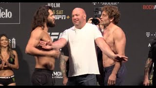 UFC 239 Ceremonial Weigh-Ins: Ben Askren vs. Jorge Masvidal
