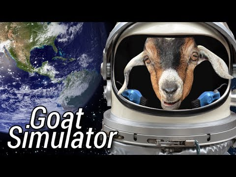 Goat Simulator - SPACE GOAT!