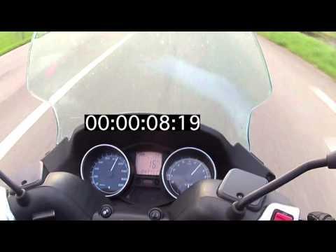 Test accélération mp3 400LT