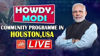 PM Modi in USA LIVE | Howdy Modi Mega Event | Narendra Modi Donald Trump | Houston LIVE | YOYO TV