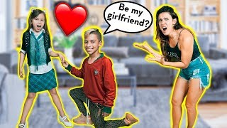 MEET MY NEW GIRLFRIEND! **PRANK On MOM** | The Royalty Family