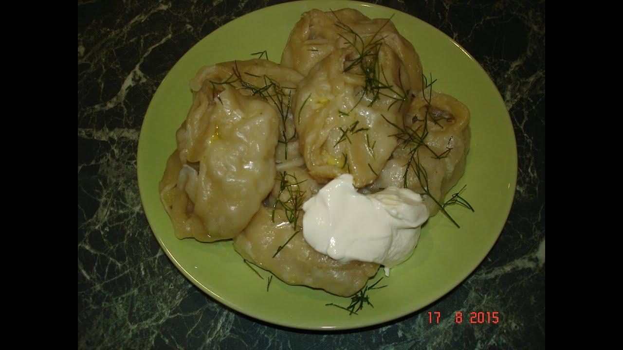 Манты с картошкой и курицей рецепт