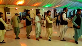 Pashto Attan song by university of gujrat  pashtoon students