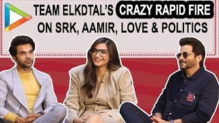 HILARIOUS: Team ELKDTAL's EPIC Rapid Fire on Shah Rukh Khan, Aamir Khan, Love, Social Media