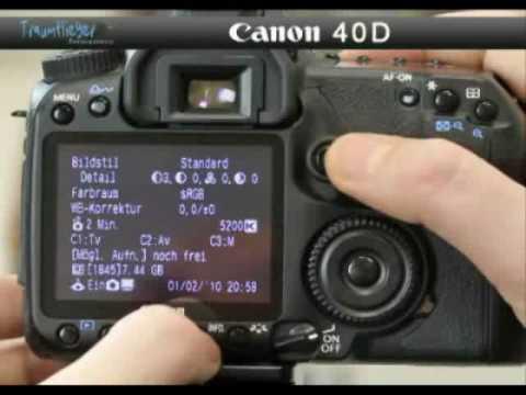 Traumflieger.de - Canon EOS 40D
