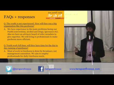 Tera Panth Vasse - Randeep Singh Presentation 5th July video