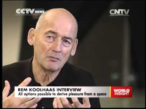 Exclusive interview with Rem Koolhaas, Dutch architect