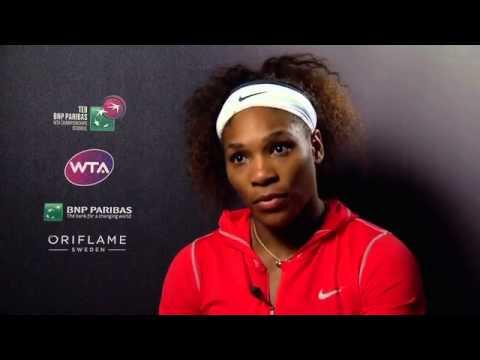 Today's Zaman -- Serena Williams pleased to beat Angelique Kerber