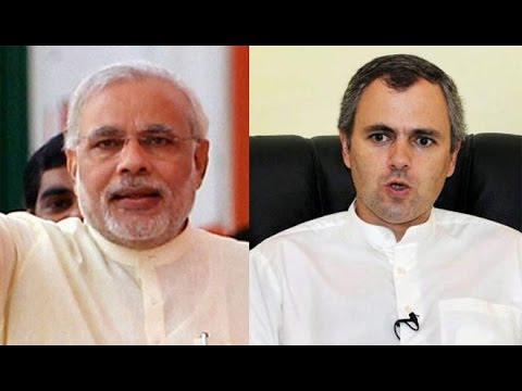 Omar Abdullah takes swipe at Narendra Modi