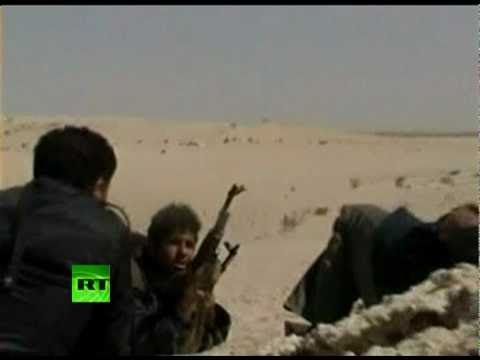 Battlefield video: Libya rebels fight Gaddafi forces