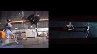 Scott Adkins As Deadpool Training And Movie Scenes