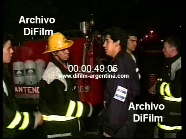 DiFilm - Incendio en un supermercado en Rio Tercero (1997)