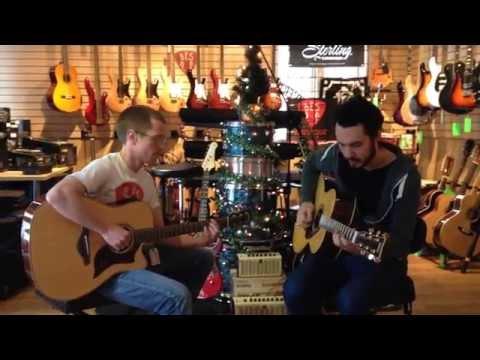 ''C'est l'hiver'' harmonisé pour 2 guitares, chez Bès musique à Sherbrooke