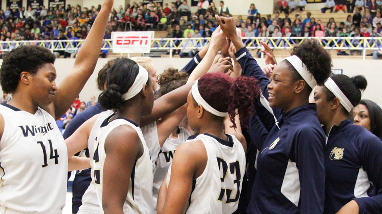 NCAA Division II Women s Basketball Wingate vs Brevard crowd mic only – Basketball City