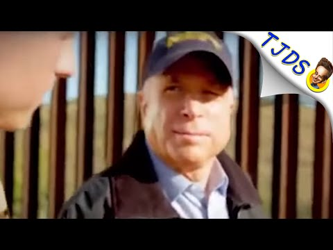 John McCain Freaks At His Own Words While Hillary Builds Barriers