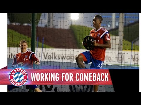 David Alaba - Working for comeback