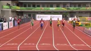 IAAF World Junior Championships 2014 - Men's 200 Metres Preliminaries Heat 5
