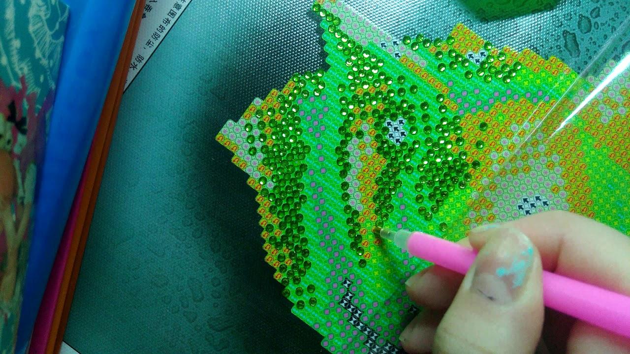 Алмазная вышивка как правильно вышивать