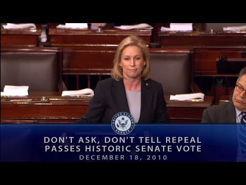 the public support and pressure to repeal the dont ask dont tell legislation in america