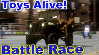 Cars 2: The video Game - Camo Sarge - Vista Run Battle Race