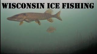 Crazy Underwater Ice Fishing!!