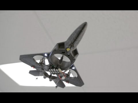 X31 2.4Ghz F22 Quadcopter Fighter Jet
