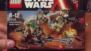 75133 LEGO Rebel Alliance Battle Pack - review