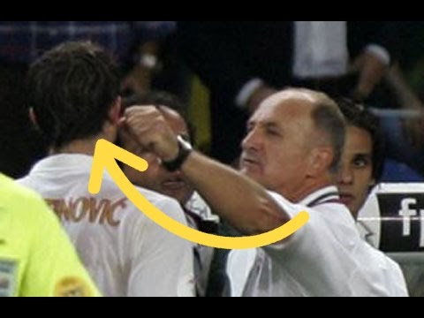 Top 10 Player vs Football Managers - Fights and Angry Moments