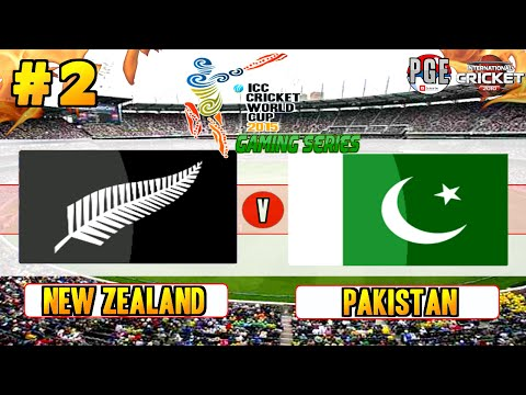ICC Cricket World Cup 2015 (Gaming Series) - Pool A Match 2 New Zealand v Pakistan