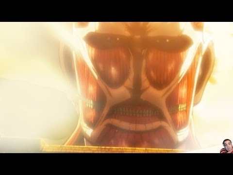 Attack On Titan Episode 1 進撃の巨人 Review -- Humanity's Despair (Shi