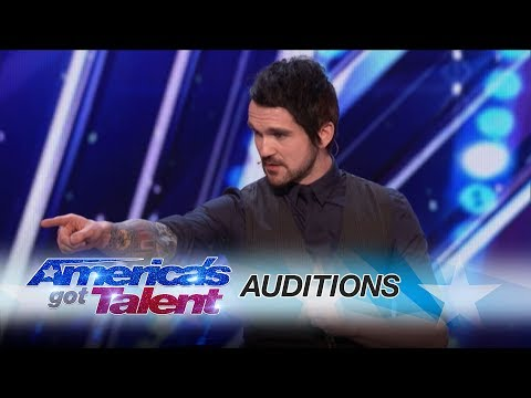 Before It's On TV! Colin Cloud: Real Life Sherlock Holmes Reads Minds - America's Got Talent 2017