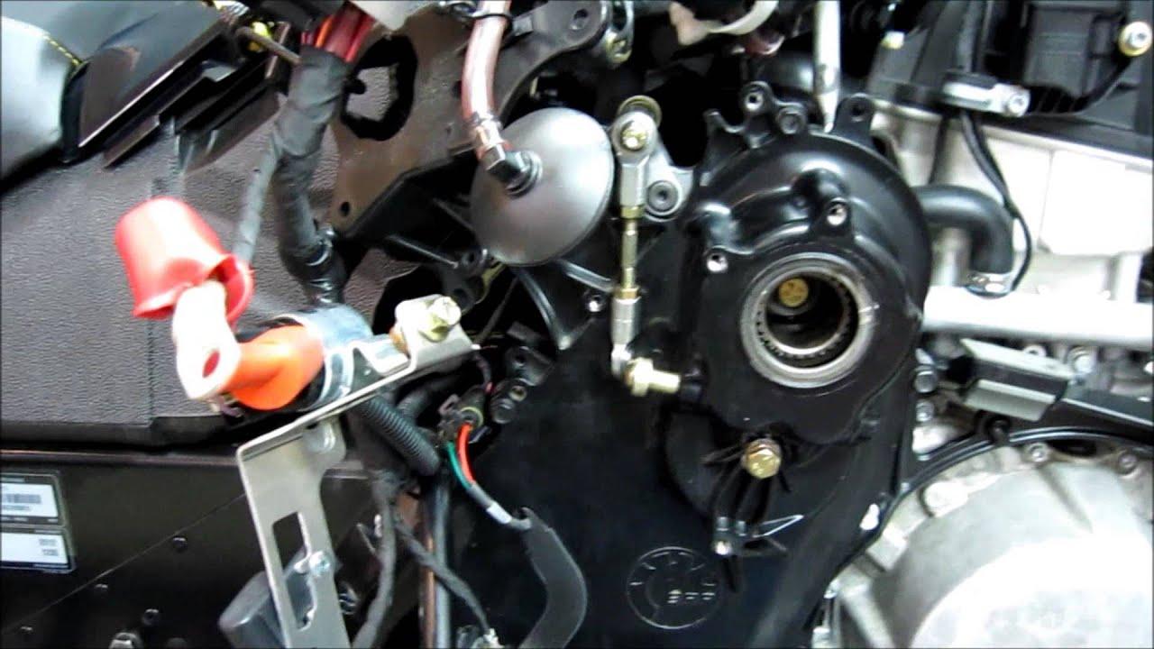 Yamaha Generator Oil Change