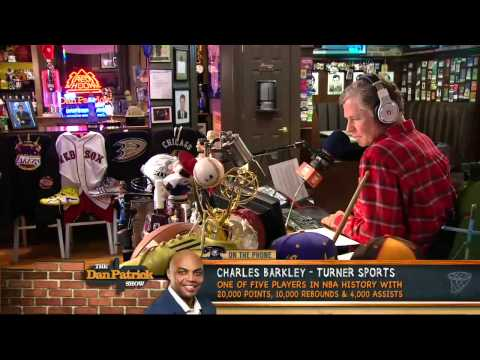 Charles Barkley on The Dan Patrick Show 5/7/13