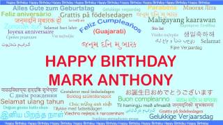 Mark Anthony   Languages Idiomas
