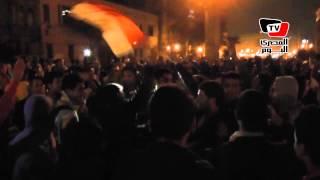 تظاهرات بميدان عبد المنعم رياض احتجاجاً على الحكم ببراءة مبارك