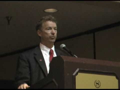 Pt 1 - Rand Paul, MD speaks to doctors about healt