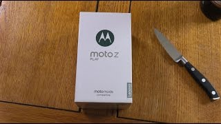 Moto Z Play - Unboxing & First Look! (4K)