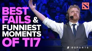 The BEST Fails and FUNNIEST Moments of The International 2017 (Dota 2)