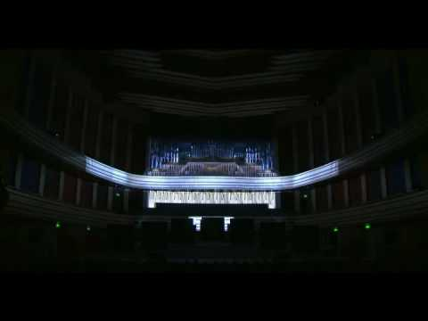 Hungarian Palace of Arts  - projection mapping