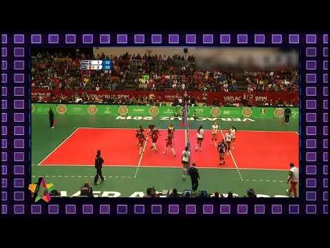 Voleibol Rep Dominicana vs México Semifinales Juegos Centroamericanos 2014, 19/11/2014 Parte 2