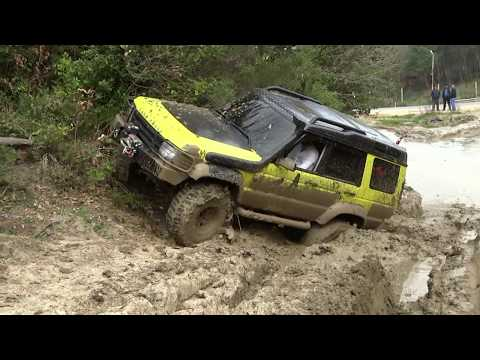Land Rover Discovery TD5 x3 & Range Rover Classic v8 ''extreme offroad''