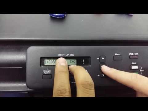 Conectar impresora Brother DCP-J105 a la red WiFi