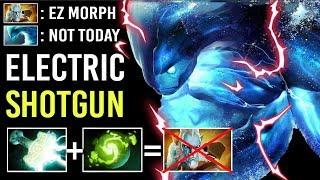 EPIC SICK PLAY! ELECTRIC Shotgun Mjollnir Morphling vs Pro Lancer Crazy Comeback by Meracle- Dota 2