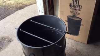 Pit Barrel Cooker - First Run