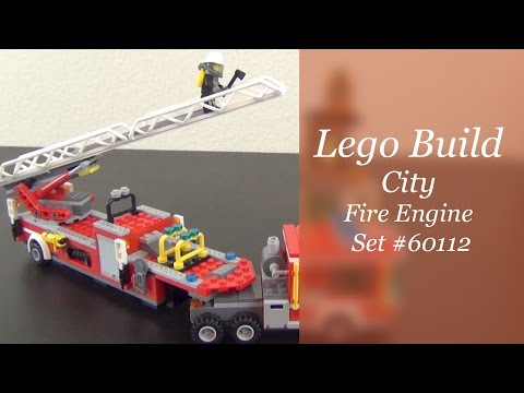 Let's Build - LEGO City Fire Engine Set #60112