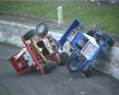 Stock  Auto Racing on Compilation Of Crashes From The World Of Stock Car Racing In The Uk