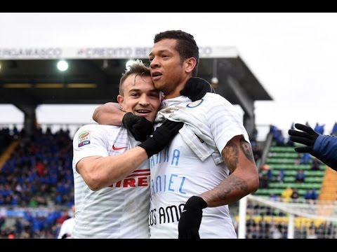 Fredy Guarin And Xherdan Shaqiri vs Atlanta(15/02/2015)14-15 HD 720P by轩旗