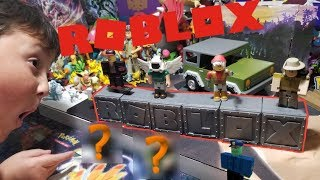 ROBLOX TOYS! OPENING A MYSTERY BLIND BOX 6 PACK!! APOCALYPSE RISING 4X4 CAR UNBOXING AND REVIEW!
