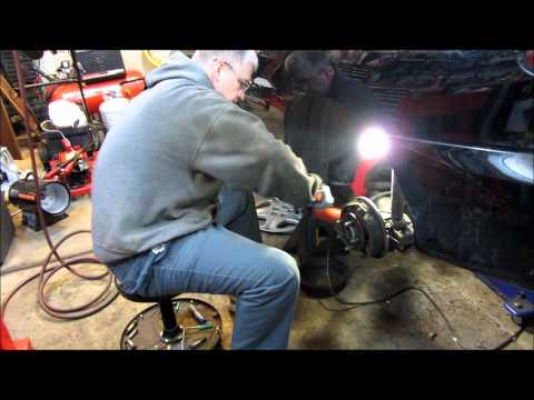 2001 Chevy Cavalier rear wheel hub replacement and wheel speed sensor diagnose
