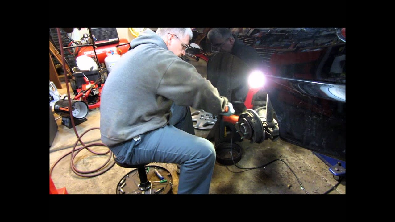 2001 Chevy Cavalier Rear Wheel Hub Replacement And Wheel